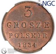 3 Grosze Polskie -  Alexander I / Nikolai I – reverse