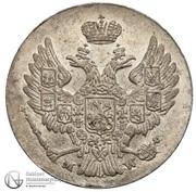 5 Groszy - Nikolai I – obverse
