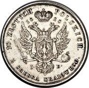 10 Złotych Polskich - Aleksandr I -  obverse