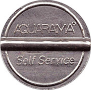 Car Wash Token - Aquarama – reverse