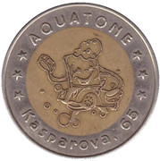 Car Wash Token - Aquatone (Armavir) – obverse