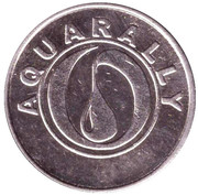 Car Wash Token - Aquarally (Rostov-on-don) – obverse