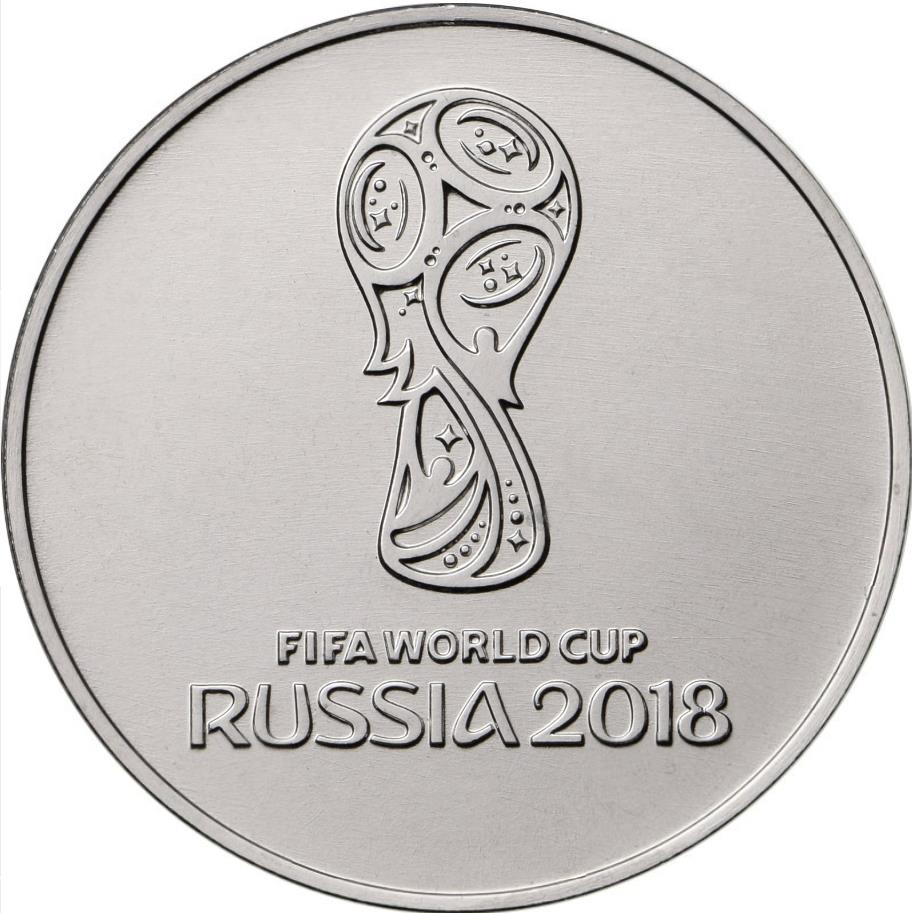 Soccer Comme Issue UNC 3 Coin Full Set Russia 25 Rubles 2018 FIFA World Cup