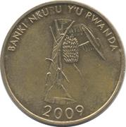 10 Amafaranga (Type 2 legend) – reverse