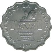 2 Francs (FAO) – obverse