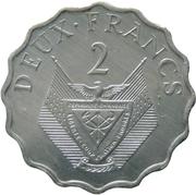 2 Francs (FAO) – reverse