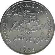 10 Francs (small type) – obverse