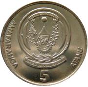 5 Amafaranga (Type 1 legend) – reverse