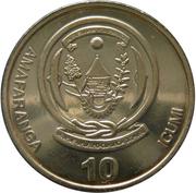10 Amafaranga (Type 1 legend) – reverse
