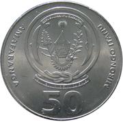 50 Amafaranga -  reverse