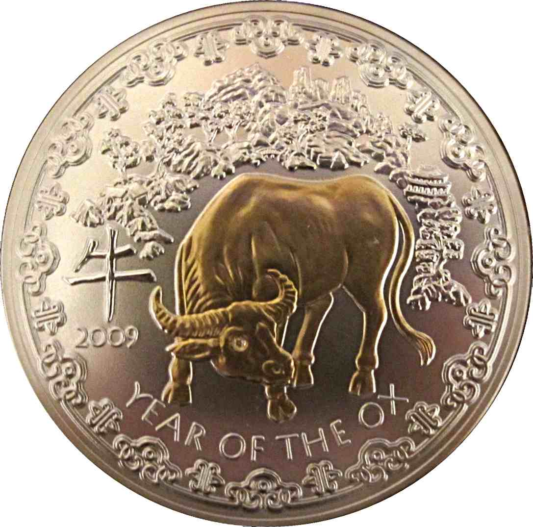 2009: 1000 Francs (Year Of The Ox)