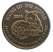 10 Francs (Panda) – reverse