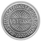 ½ Franc – reverse