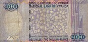 2 000 Francs – reverse