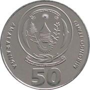 50 Amafaranga -  obverse