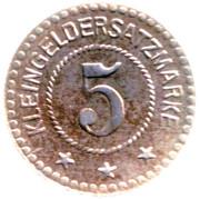 5 Pfennig - Saalfeld an der Saale – reverse