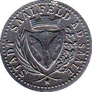 10 Pfennig - Saalfeld an der Saale – obverse