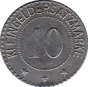 10 Pfennig - Saalfeld an der Saale – reverse