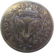 50 Pfennig - Saalfeld an der Saale – obverse