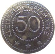 50 Pfennig - Saalfeld an der Saale – reverse