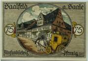 75 Pfennig (History Series) – reverse