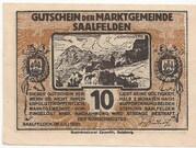 10 Heller (Saalfelden) – obverse