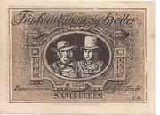 25 Heller (Saalfelden) – reverse