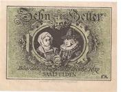 10 Heller (Saalfelden) – reverse
