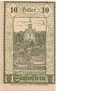 10 Heller (Säusenstein) -  obverse