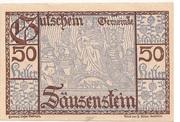 50 Heller (Säusenstein) -  obverse