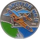 100 Pesetas (British Spitfire Mk2) – reverse