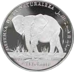 500 Pesetas (Elephant) – reverse