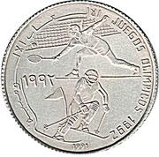 500 Pesetas (Olympics) – reverse