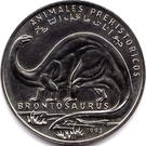 100 Pesetas (Brontosaurus) – reverse