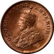 ¼ Anna - George V – obverse