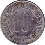10 Centimes (Saint André de l'Eure) – reverse