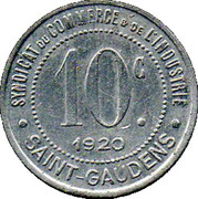 10 Centimes (Saint Gaudens) – reverse