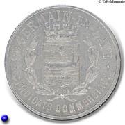 10 Centimes (Saint-Germain-en-Laye) – obverse