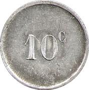 10 Centimes (Saint Germain en Laye) – reverse