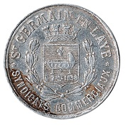 25 Centimes (Saint-Germain-en-Laye) – obverse
