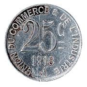 25 Centimes (Saint-Germain-en-Laye) – reverse