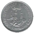 1 Lira (Freedom of Thought) – obverse