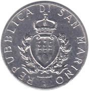 1 Lira (Faetano) – obverse