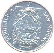 1 Lira (Fortifications) – obverse