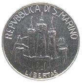 5 Lire (Galileo Galilei) – obverse
