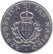 5 Lire (Montegiardino) – obverse