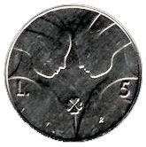 5 Lire (Anniversary of Republic) – reverse