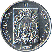 5 Lire (Fortifications) – obverse