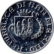 1 Lira (Monte Titano) – obverse