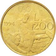 200 Lire (FAO) -  reverse